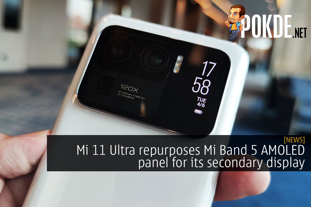 mi 11 ultra mi band 5 cover