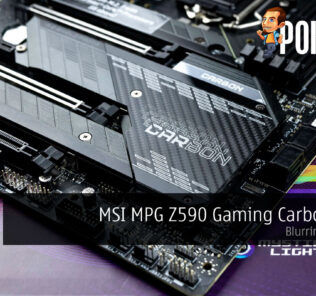 msi mpg z590 gaming carbon wifi review cover