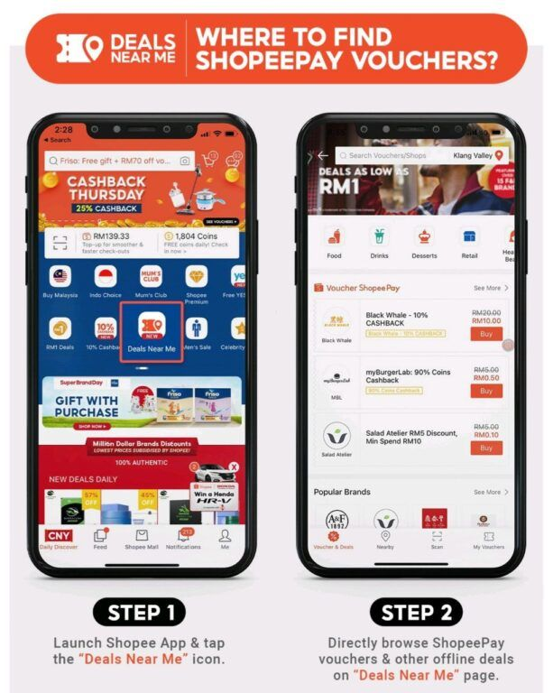 ShopeePay Deals Near Me Lets You Find The Best Deals In Your Location