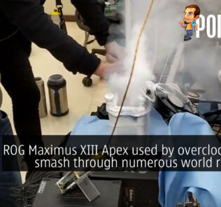 rog maximus xiii apex overclocker world record cover