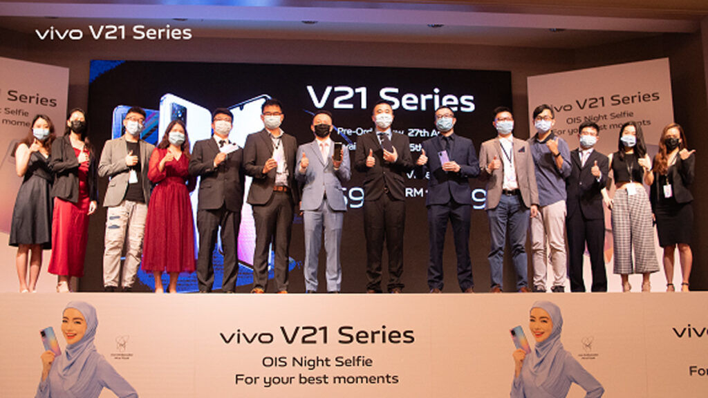vivo V21 series