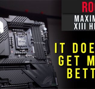 ROG Maximus XIII HERO Overview - It doesn't get much better than this 32