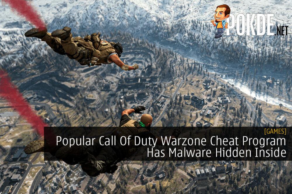 Popular Call Of Duty Warzone Cheat Program Has Malware Hidden Inside