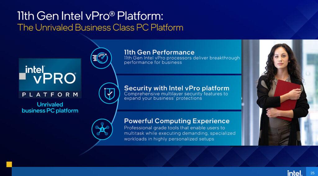 11th Gen Intel vPro Platform