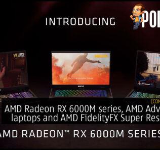 AMD Radeon RX 6000M series, AMD Advantage, AMD FidelityFX Super Resolution cover