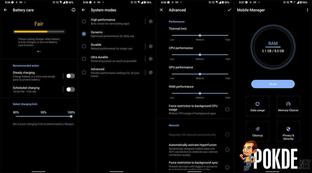 ASUS ZenFone 8 Flip Review battery performance