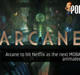 Arcane Netflix league of legends riot games cover