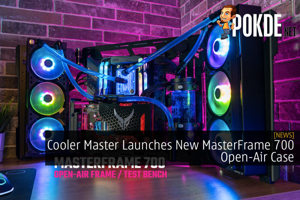 Cooler Master Launches New MasterFrame 700 Open-Air Case 20