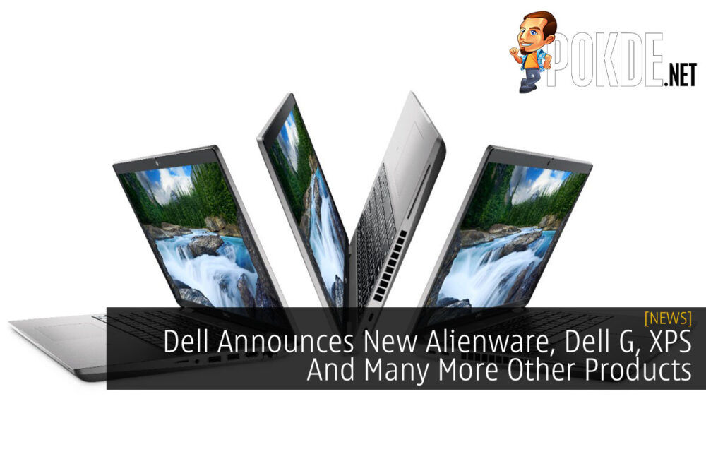 Dell Announces New Alienware, Dell G, XPS And Many More Other Products cover