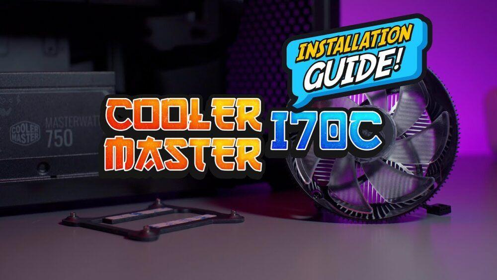 Installation Guide - Install Cooler Master i70C under 3 minute 24