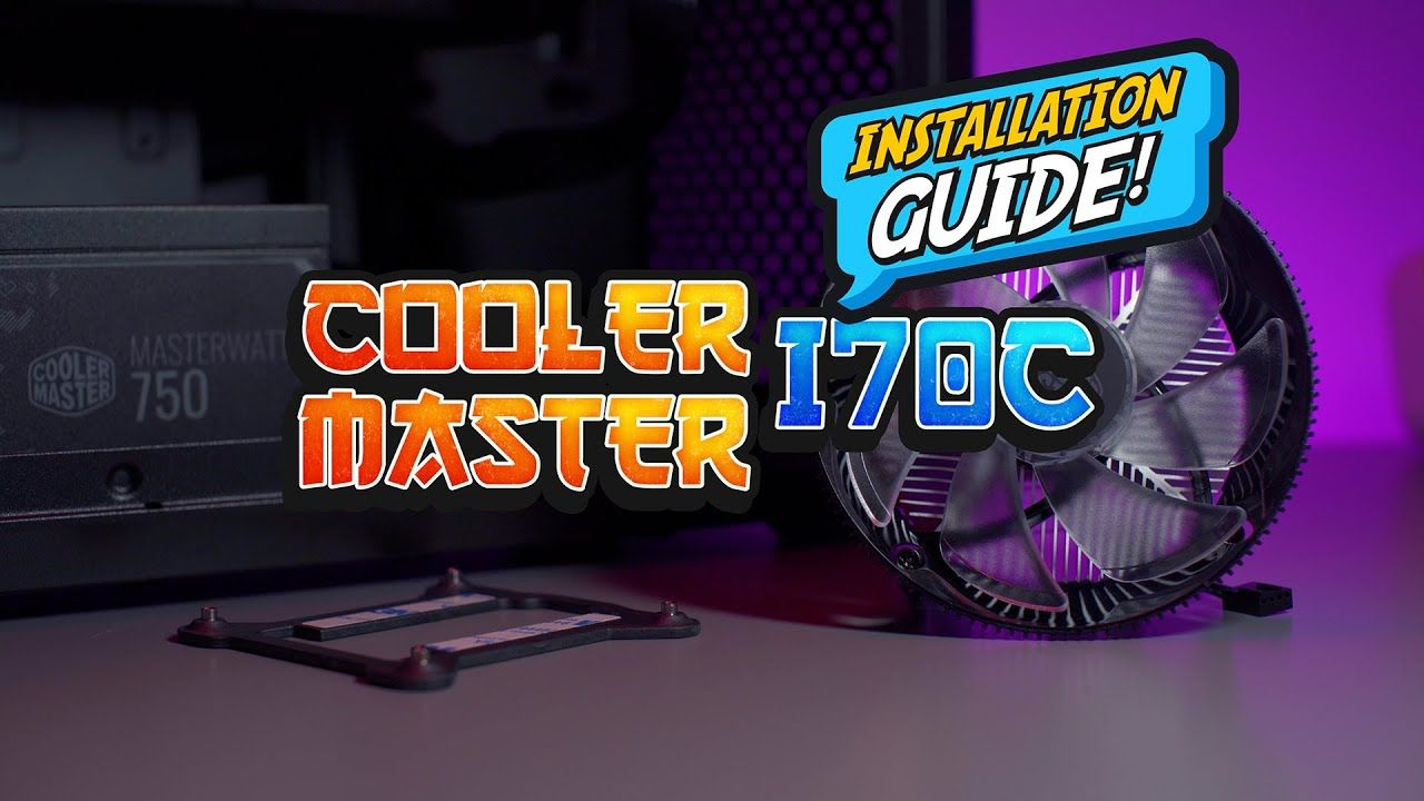 Installation Guide - Install Cooler Master i70C under 3 minute 19
