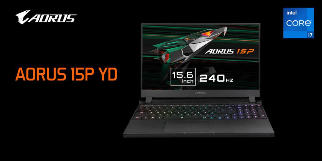 GIGABYTE AORUS 15P YD gaming laptop (1)