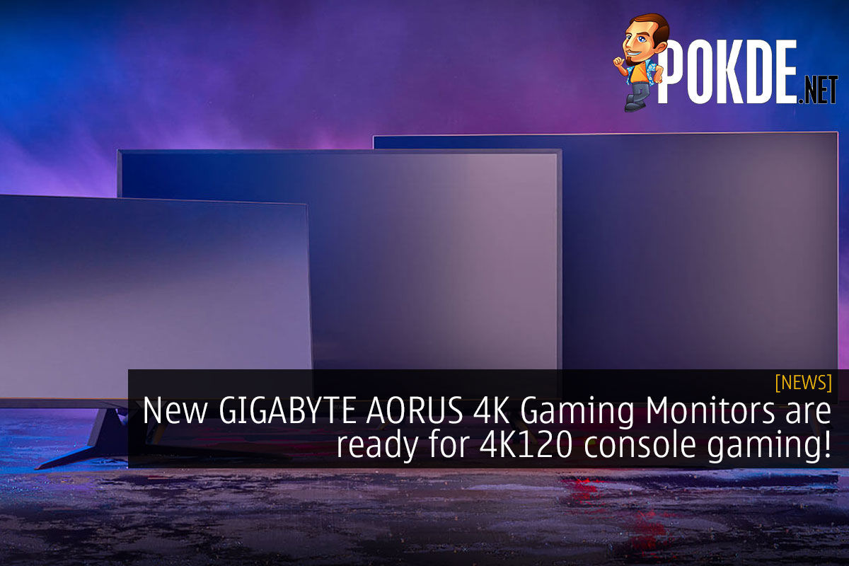 GIGABYTE AORUS 4K console gaming cover
