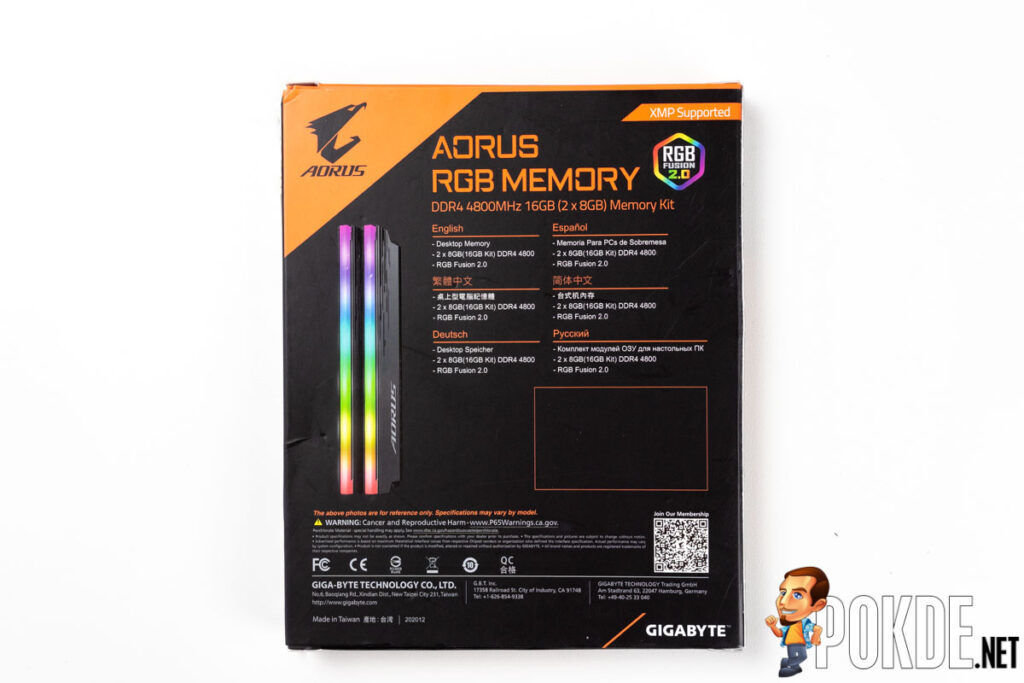 GIGABYTE AORUS RGB Memory DDR4 4800MHz Review — end-game RAM? 20