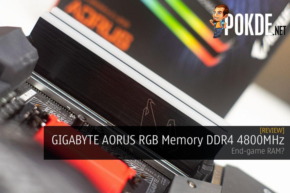 GIGABYTE AORUS RGB Memory 4800MHz Review end-game RAM