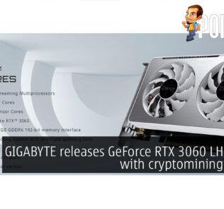 GIGABYTE GeForce RTX 3060 LHR cards cover