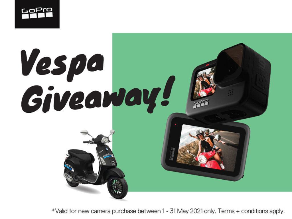 GoPro Malaysia Hari Raya Vespa