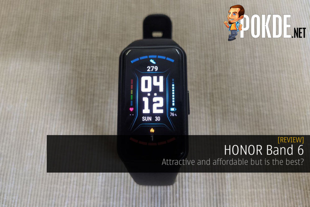 HONOR Band 6 review cover