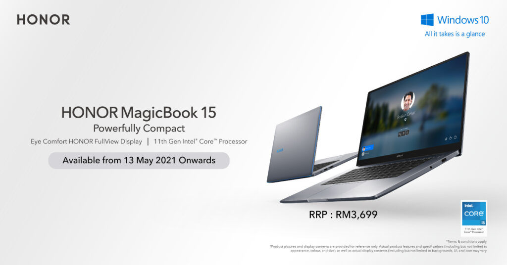 HONOR MagicBook 15 and HONOR Band 6 Now Up For Pre-order In Malaysia 25