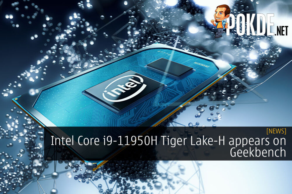 Intel Core i9-11950H geekbench cover