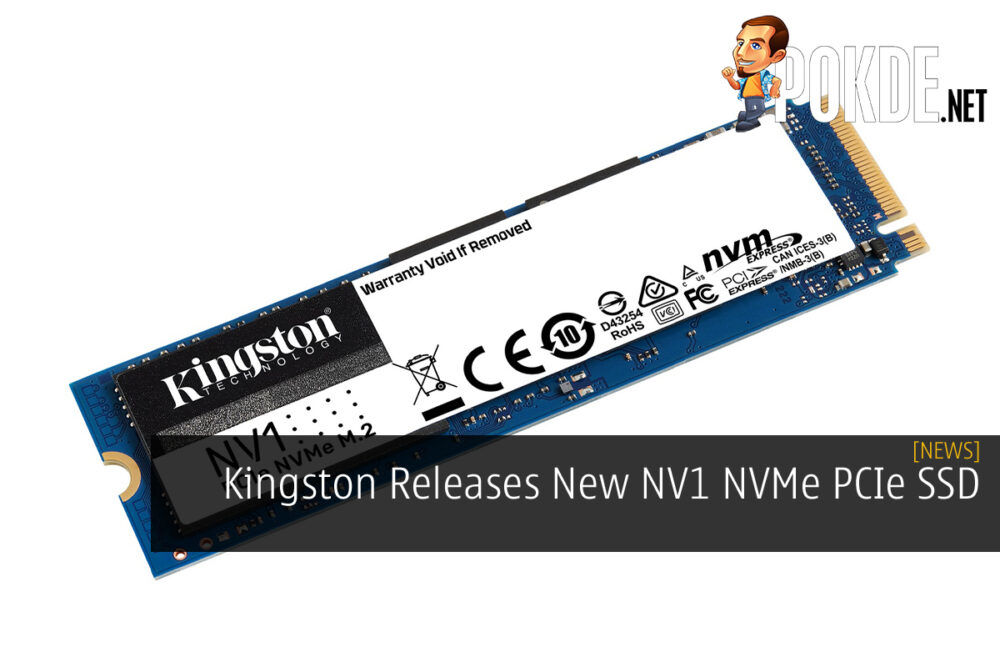 Kingston Launches NV1 NVMe PCIe SSD cover