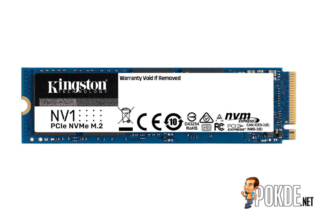 Kingston Releases New NV1 NVMe PCIe SSD 24