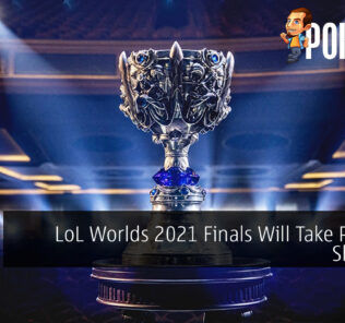 LoL Worlds 2021 Finals Shenzen cover