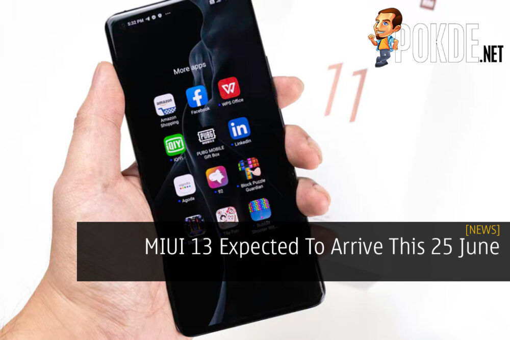 MIUI 13 Expected To Arrive This 25 June 24