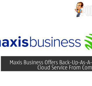 Maxis Business Back-Up-As-A-Service Commvault cover