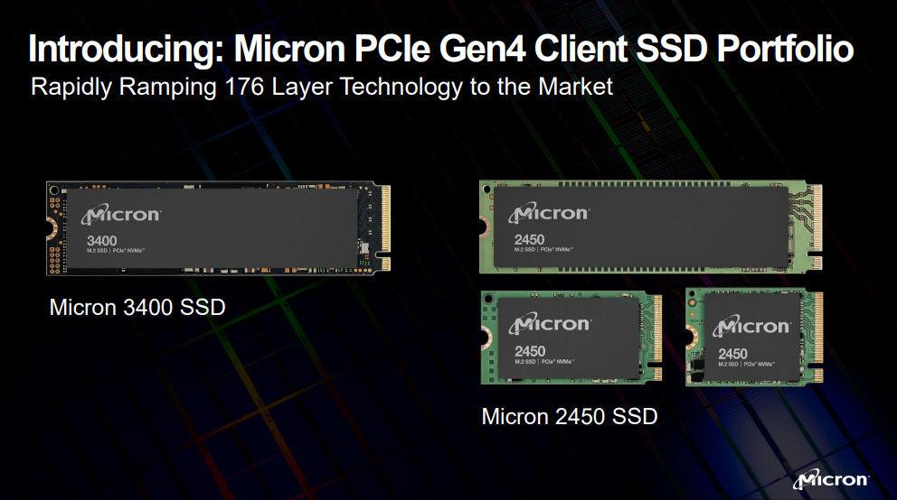 Micron 176 layer 3D NAND