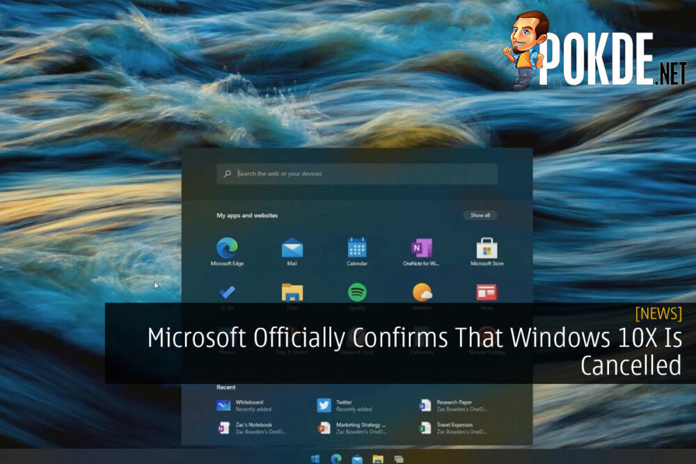 Microsoft Officially Confirms That Windows 10X Is Cancelled 21