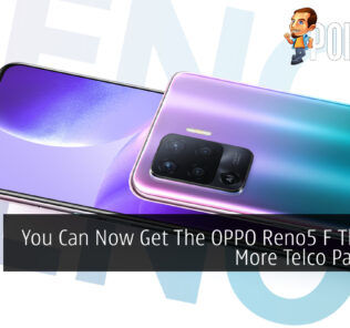 OPPO Reno5 F Telco Packages cover