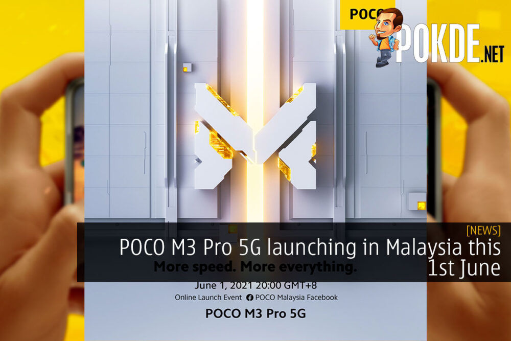 POCO M3 Pro 5G launching in Malaysia this 1st June 21