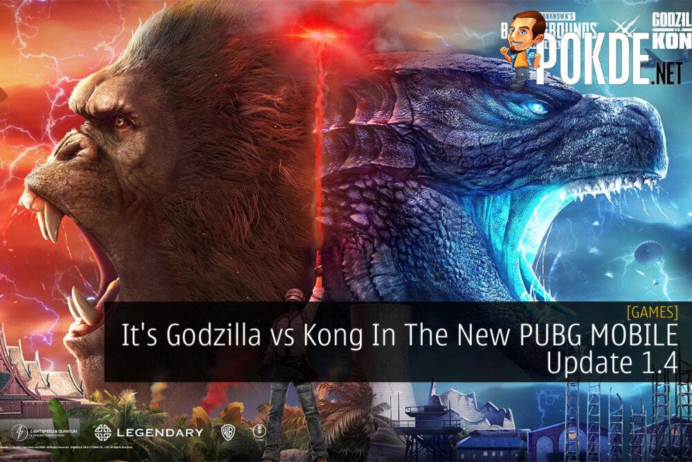 PUBG MOBILE Godzilla vs Kong cover