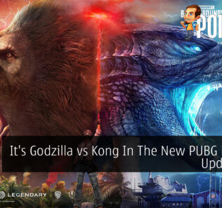PUBG MOBILE Godzilla vs Kong cover