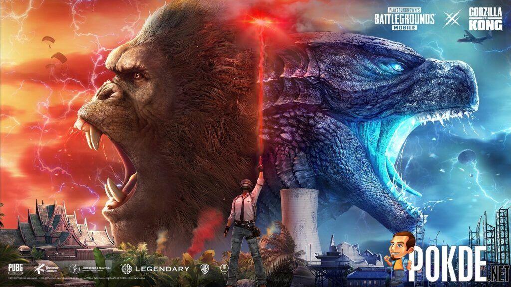 It's Godzilla vs Kong In The New PUBG MOBILE Update 1.4 22