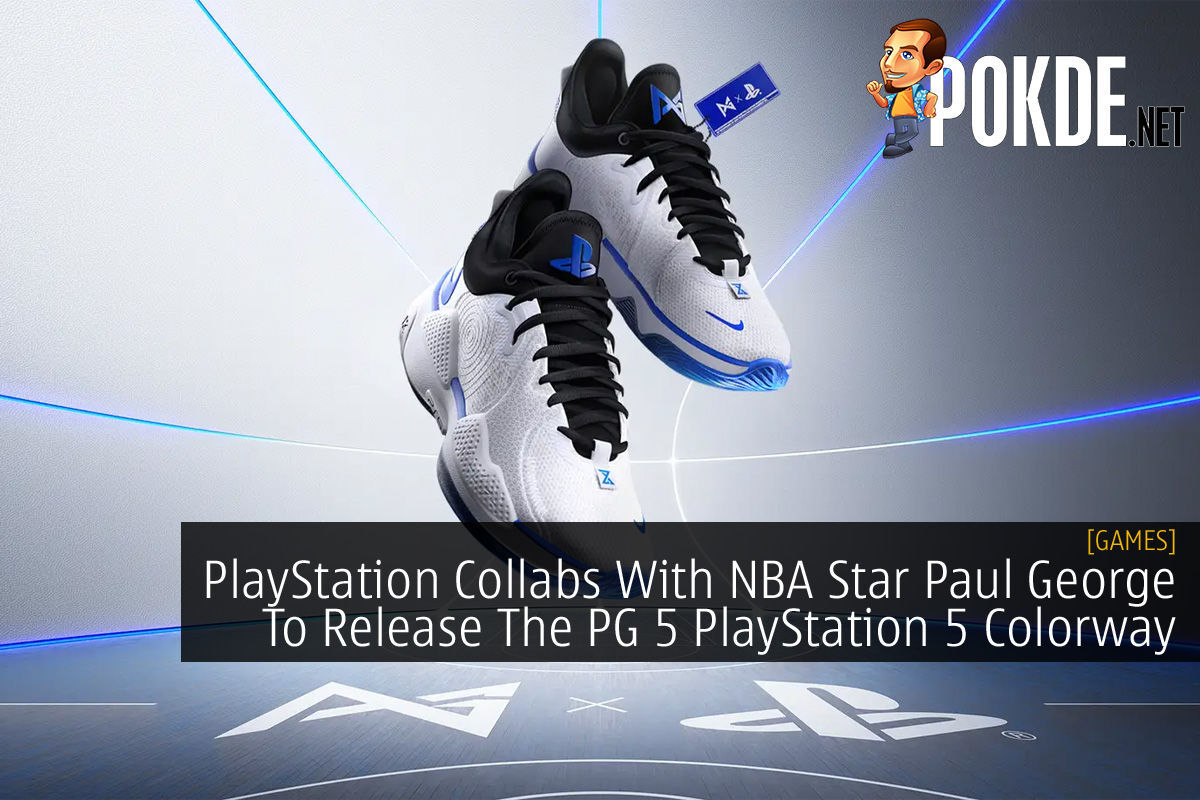 PlayStation Paul George PG 5 PlayStation 5 Colorway cover