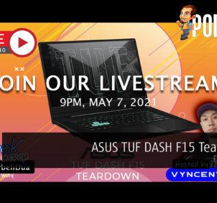 PokdeLIVE 103 — ASUS TUF DASH F15 Teardown! 51