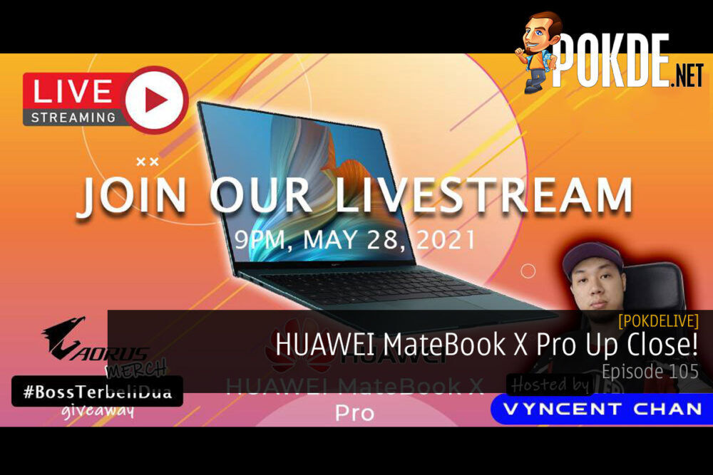 PokdeLIVE 105 — HUAWEI MateBook X Pro Up Close! 24