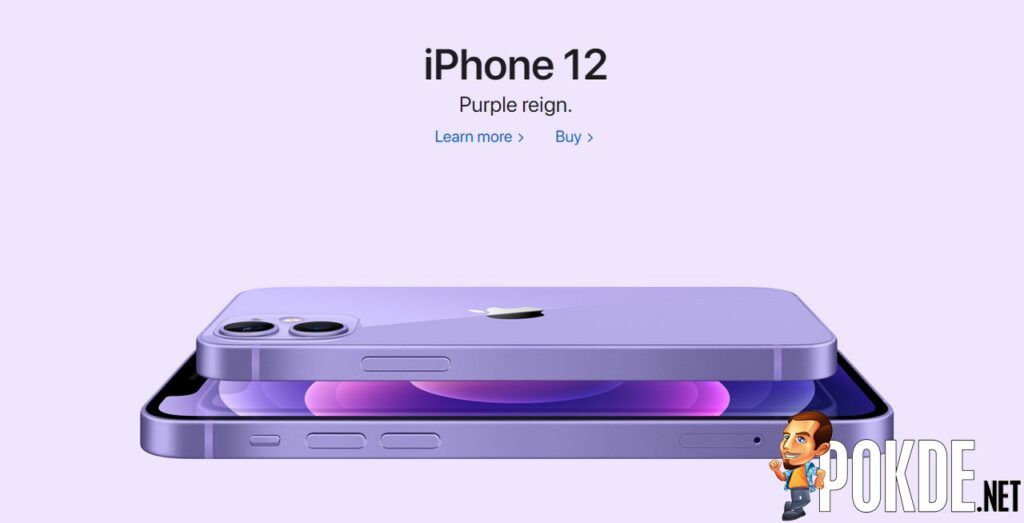 The New Purple Coloured iPhone 12 and iPhone 12 Mini Are Now Available In Malaysia 24
