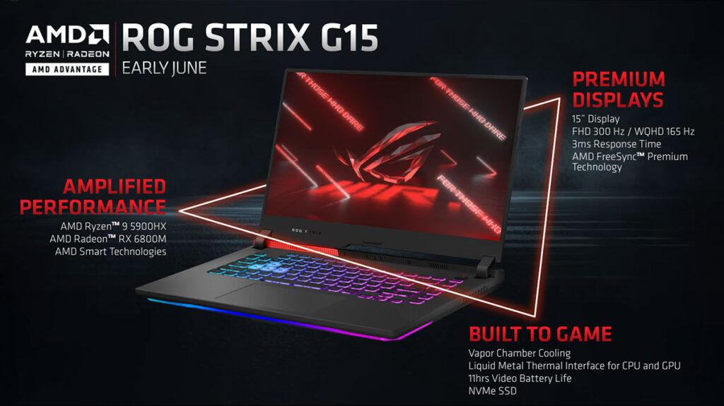 ROG Strix G15 AMD Advantage