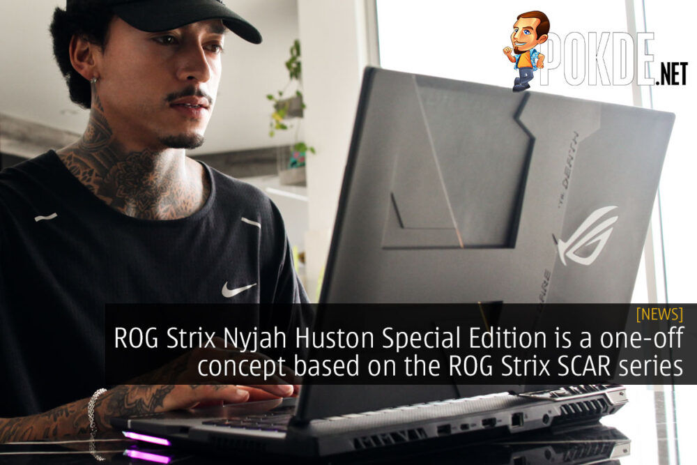 ROG Strix Nyjah Huston Special Edition laptop cover