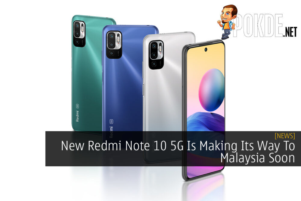 Redmi Note 10 5G Coming To Malaysia cover
