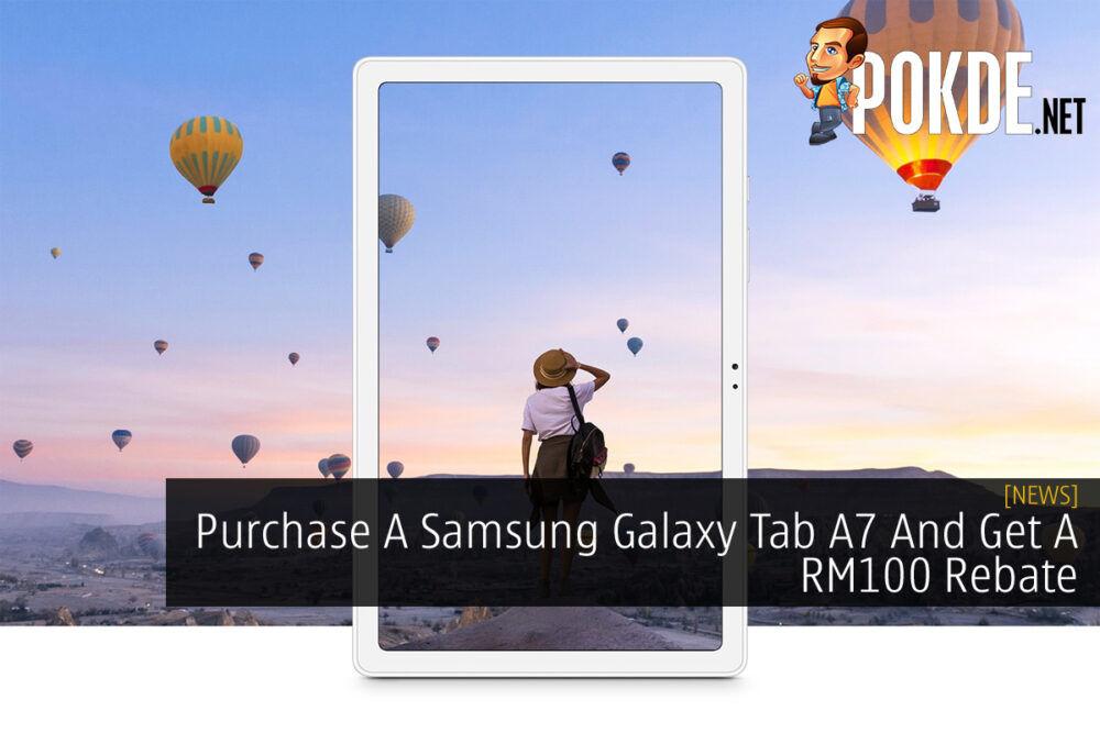 Samsung Galaxy Tab A7 RM100 Rebate cover