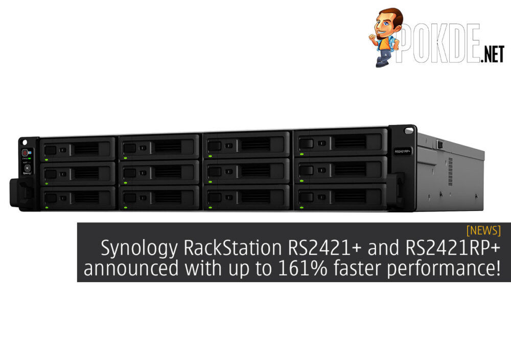 Synology RackStation RS2421+ RS2421RP+ cover