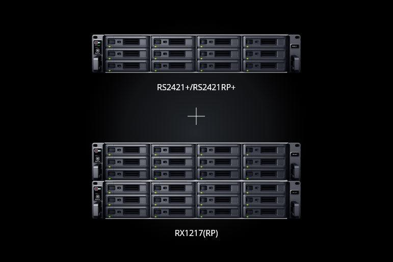 Synology RackStation RS2421+ RX1217