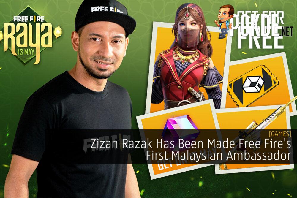 Zizan Razak Free Fire cover