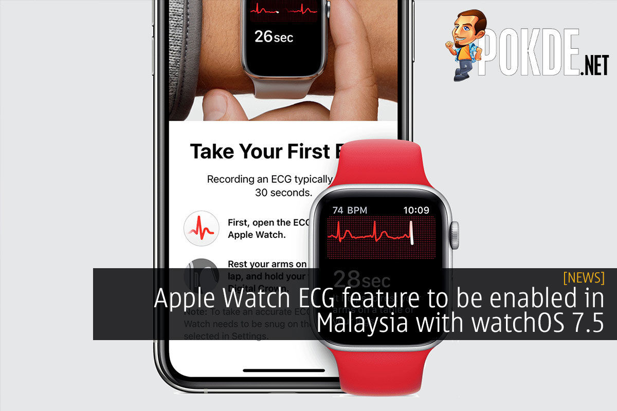 Apple Watch ECG feature to be enabled in Malaysia with watchOS 7.5 9