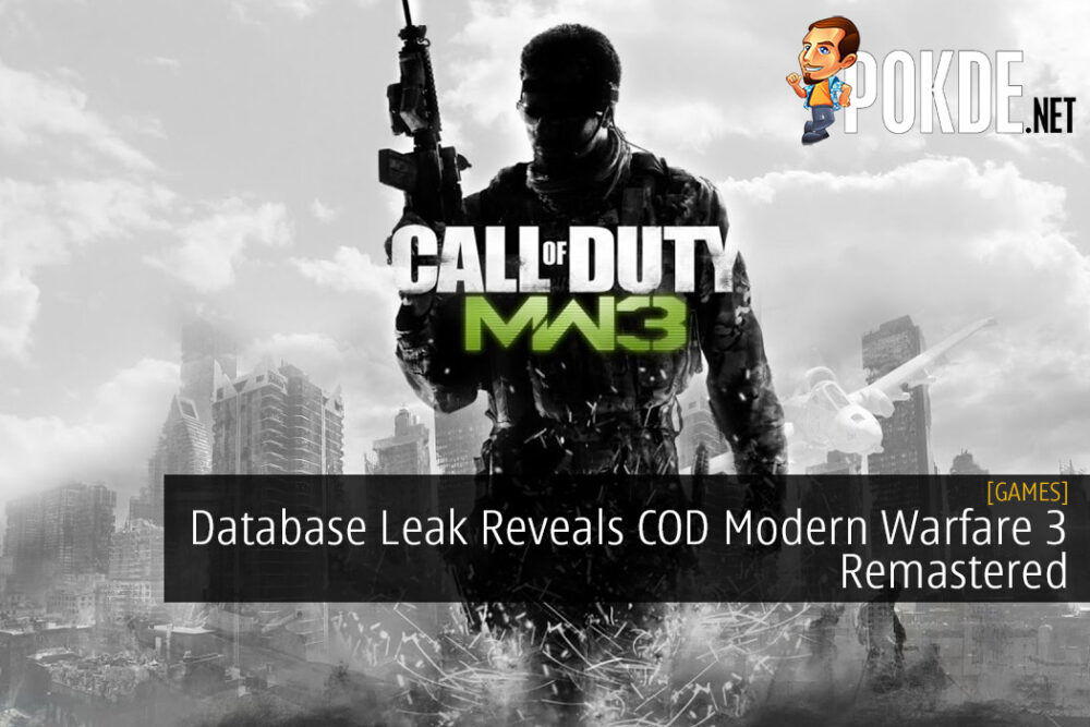 Database Leak Reveals Call of Duty Modern Warfare 3 Remastered