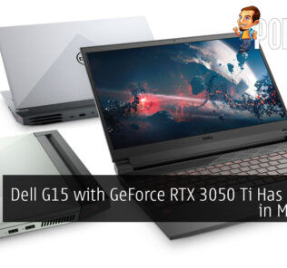 Dell G15 with GeForce RTX 3050 Ti